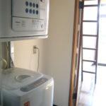 洗濯機、乾燥機付き